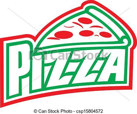 Pizza Logos Clip Art.