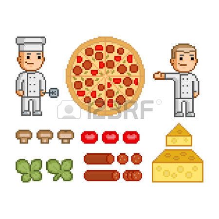 128 Pizza Maker Stock Vector Illustration And Royalty Free Pizza.