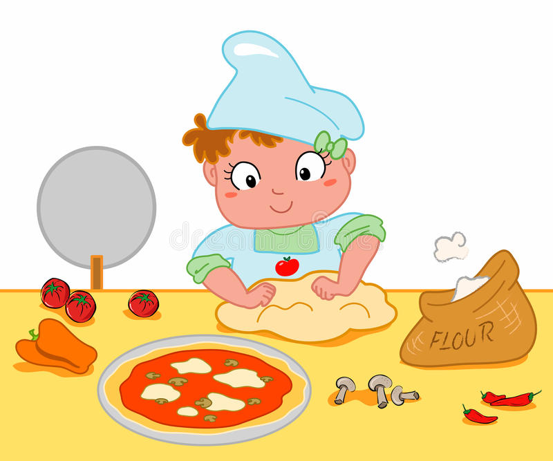 How To Make Pizza Clipart.