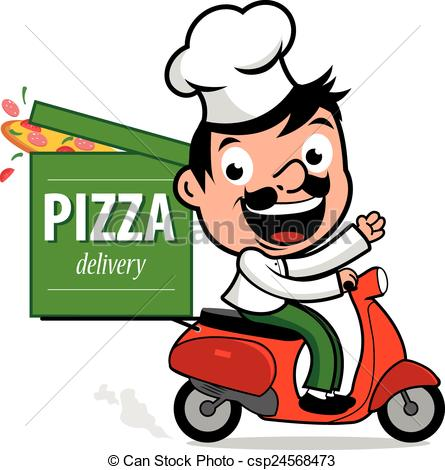 Pizza man clipart 4 » Clipart Station.