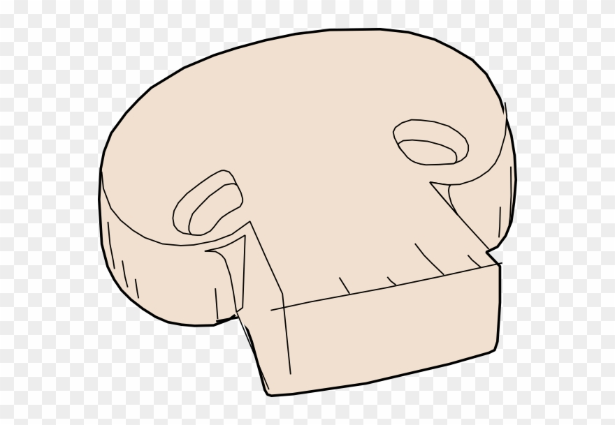 Totetude Mushroom Pizza Topping Clip Art At Clker.