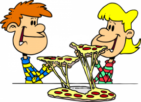 Pizza Night Clipart.