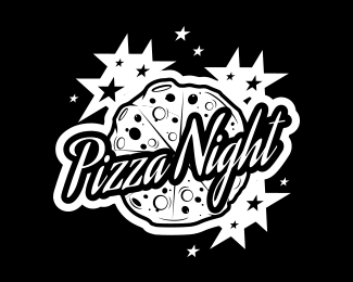 Pizza Clip Art Night.
