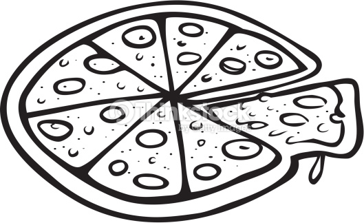 9427 Pizza free clipart.