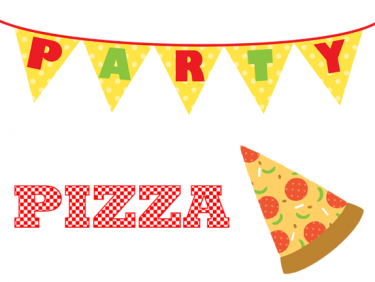 60+ Pizza Party Clip Art.