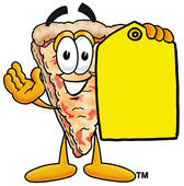Girl Pizza Party Clipart.