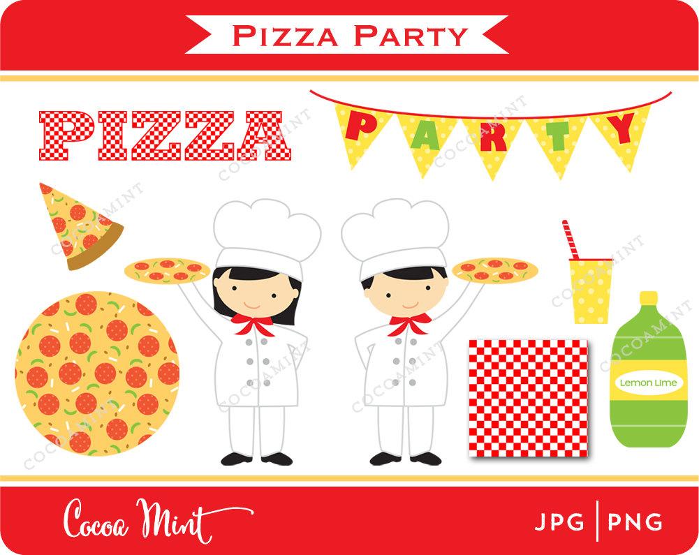 Pizza Party Clip Art.