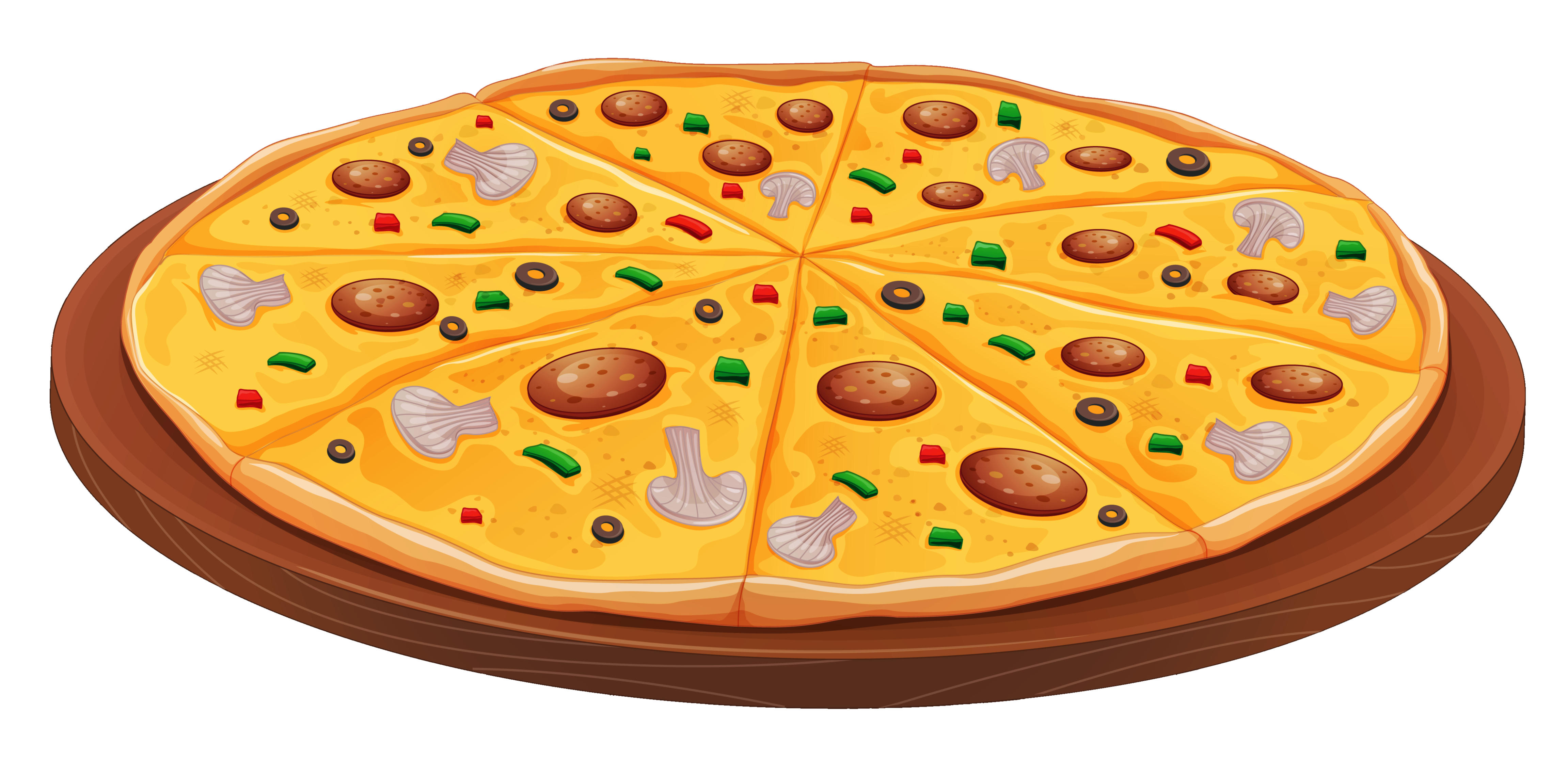 Pizza Free To Use Clip Art Transparent Png.