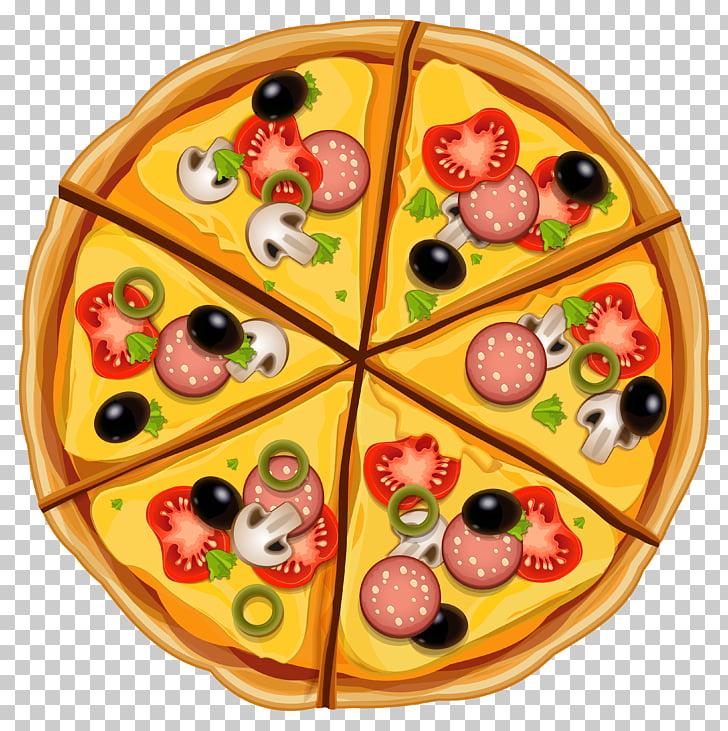 Pizza Fast food Italian cuisine , Pizza PNG clipart.