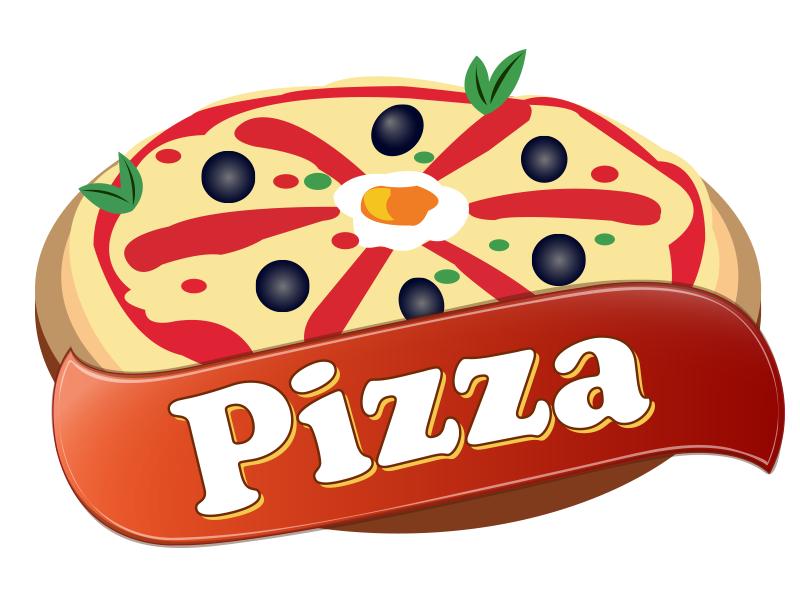 Pizza logos.
