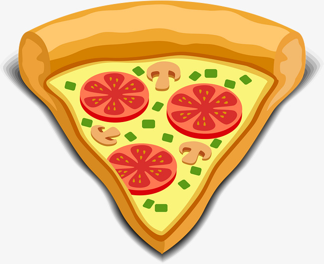 Pizza Png Vector Material, Pizza Vector, #110252.