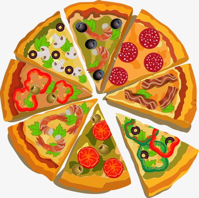 Vector Pizza Pizza Vector Vegetable Pizza Png And Vector For.