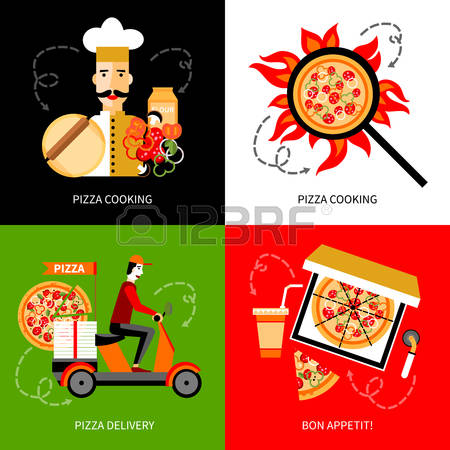 535 Online Pizza Stock Vector Illustration And Royalty Free Online.