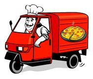 Appetizing Italian Pizza Stock Illustrations.