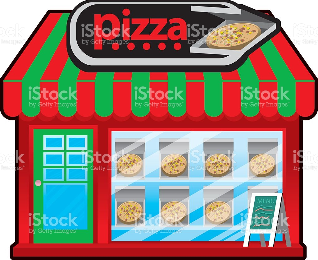 Pizza Shop Clipart Vector Id.