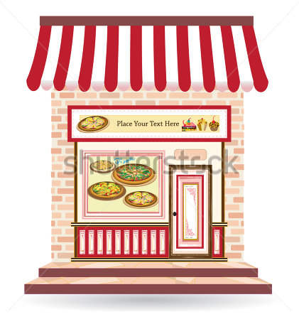 Pizza Shop Clipart Restaurant.