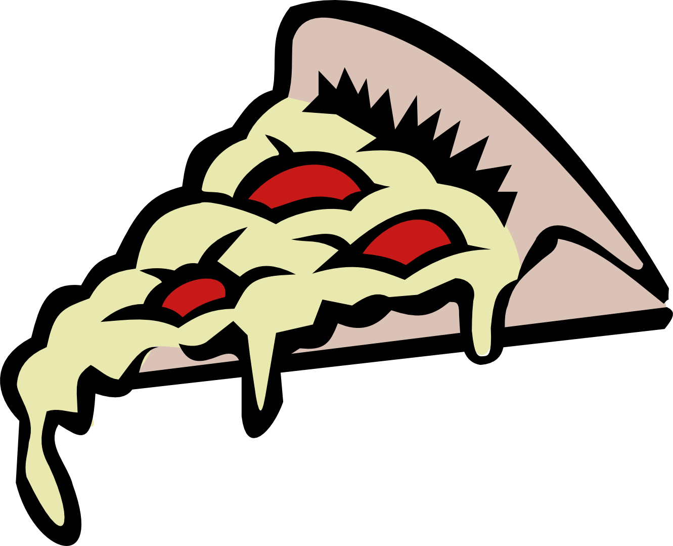 Slice Of Pizza Clipart.