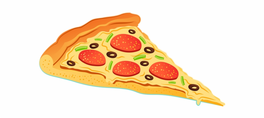 Download Free png Transparent Background Pizza Slice Clip.