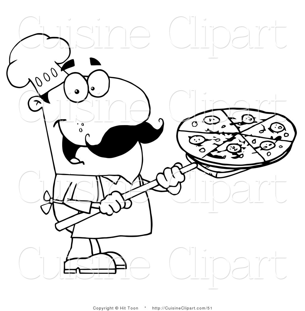 Royalty Free Pizza Chef Stock Cuisine Designs.