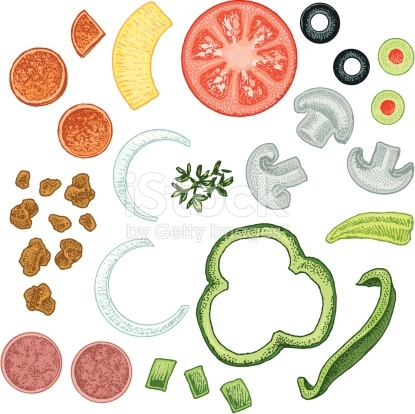 Pizza Toppings Clipart & Pizza Toppings Clip Art Images.