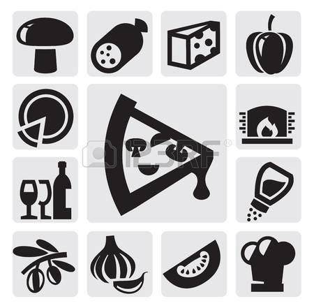 5,019 Pizza Ingredients Cliparts, Stock Vector And Royalty Free.