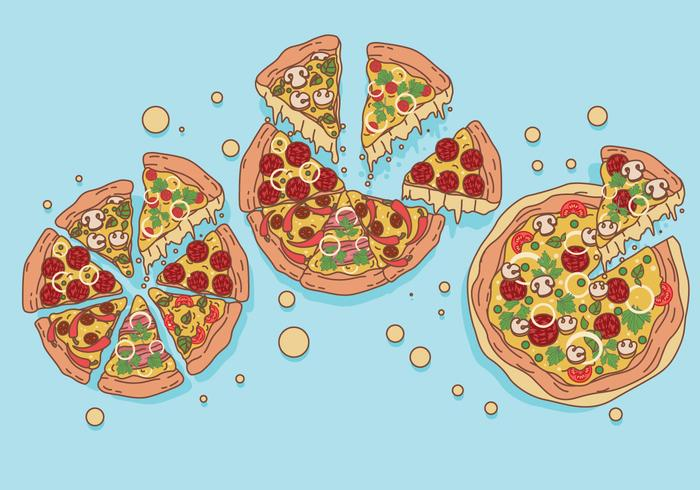 Pizza Vectors.