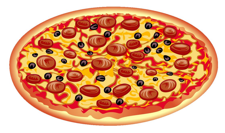 Pizza Clipart Graphics Clip art of Pizza Clipart #395 — Clipartwork.