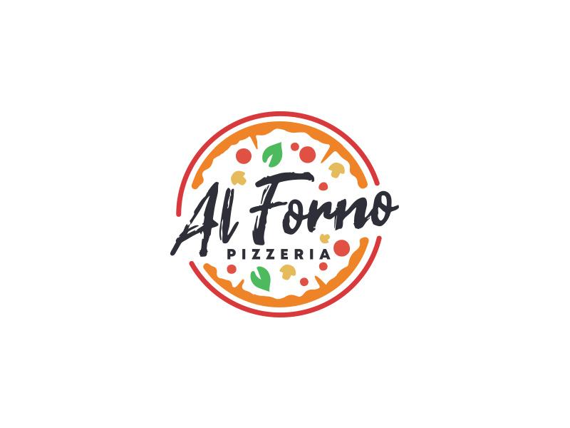 Pizzeria logo by Mersad Comaga on Dribbble.