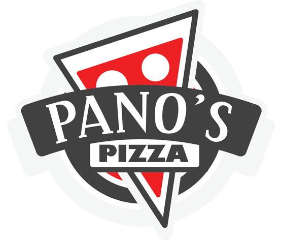 Panos Pizza Logo.
