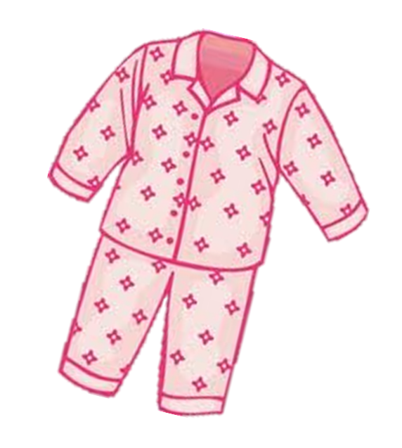 Pajama girl pj clipart images clipartfest.