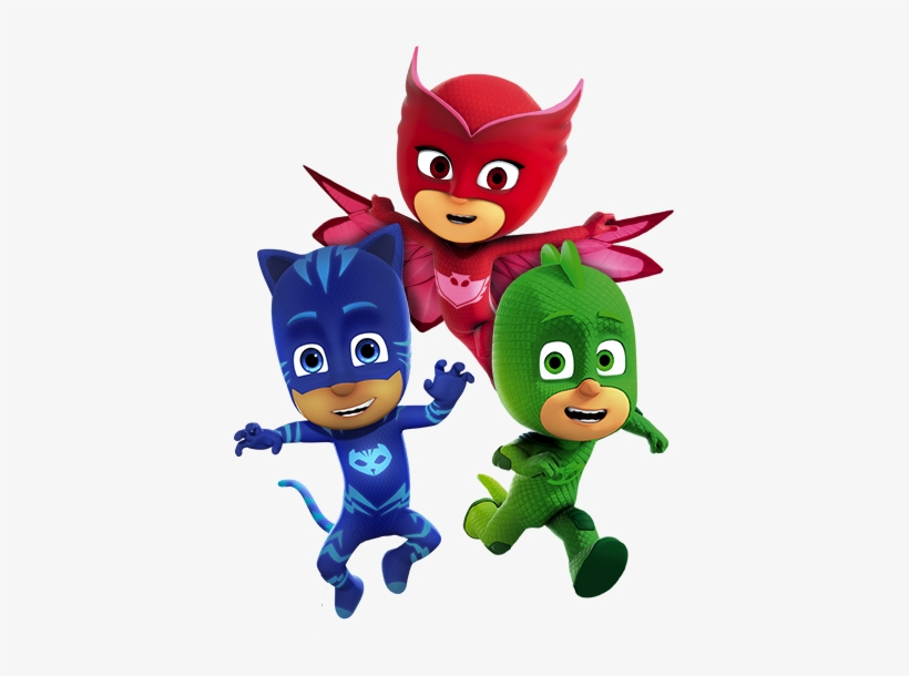 Imagenes Heroes En Pijamas Pj Masks Stickers, Mask.