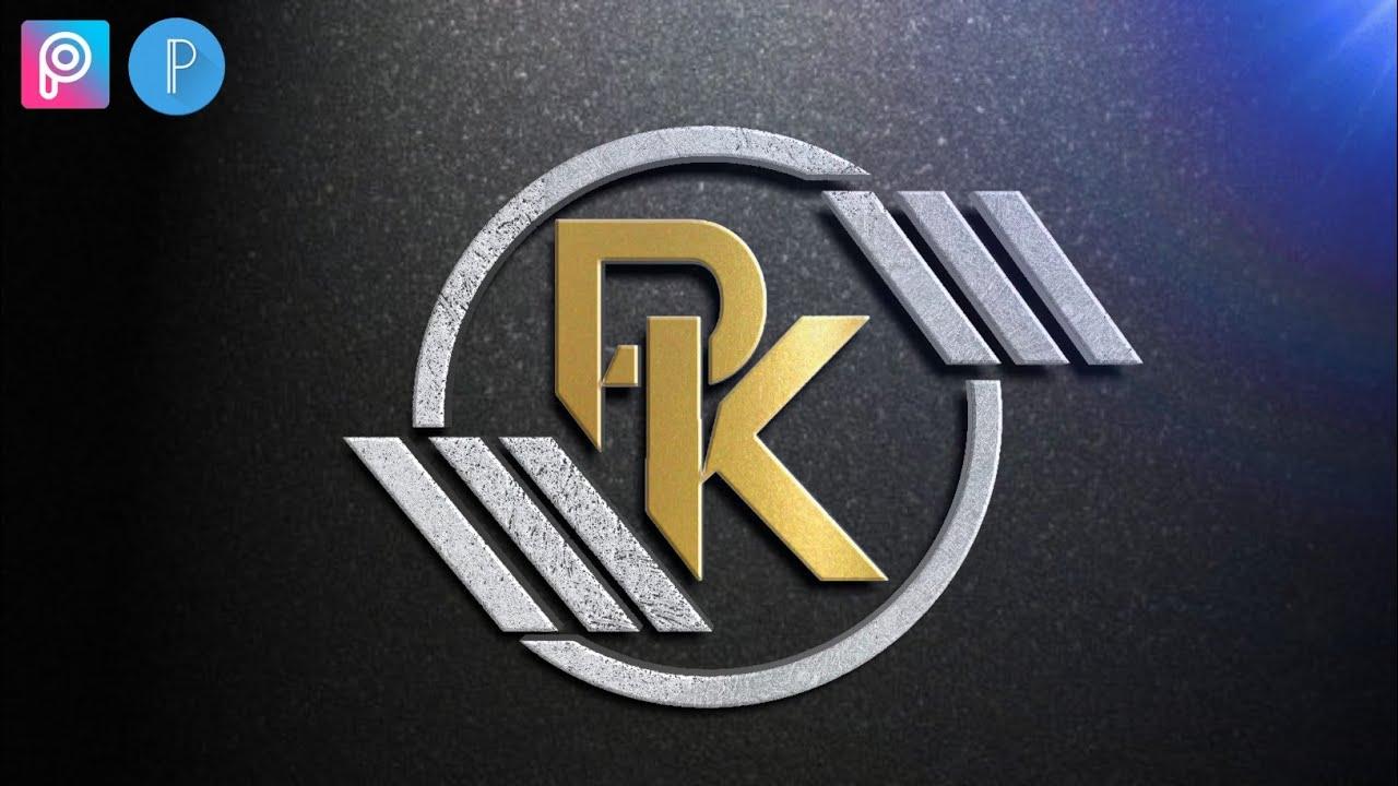 PK professional logo Design Tutoria.
