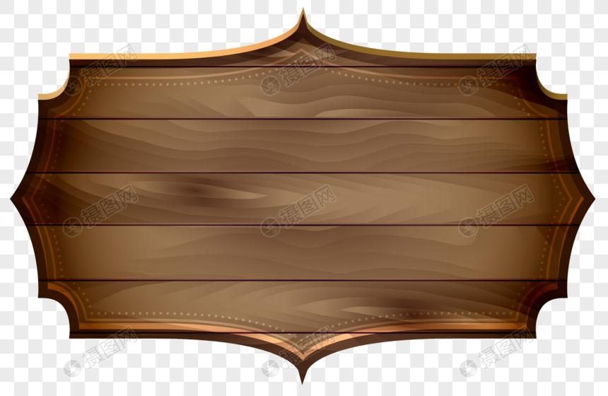 rótulo de placa de madeira Imagem Grátis_Gráficos Número.