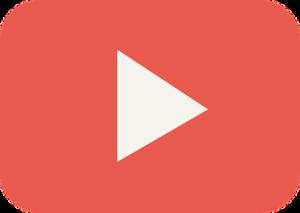 Placa do YouTube.