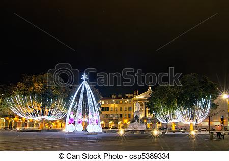Stock Photo of Place garibaldi, Nice,France.
