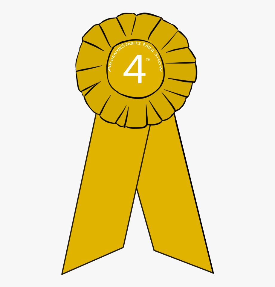 Fourth Place Award Clipart.