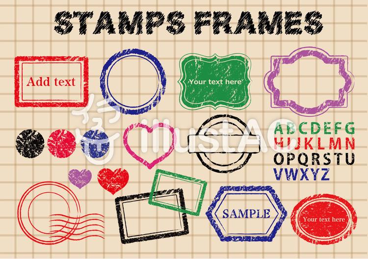 Stamp material.