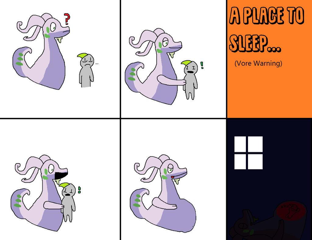A Place To Sleep(VORE) by errorsansvore789 on DeviantArt.