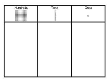 Hundreds Tens Ones Chart.