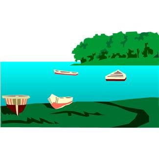 Lake clipart etc 2.