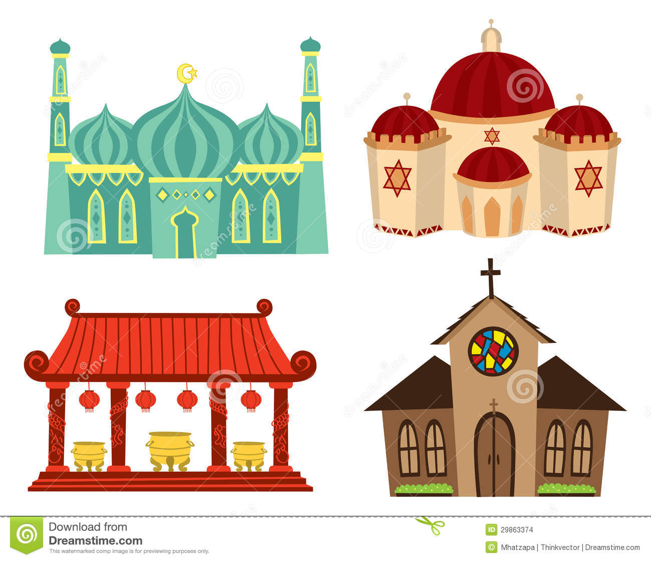 worship places clipart place background community vector illustration cliparts synagogue clipground illustrations colored related site