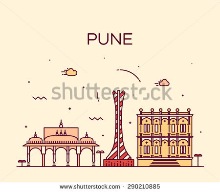 Pune Stock Photos, Royalty.