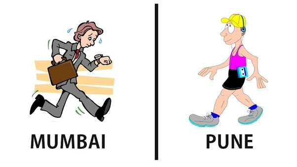 Life in Mumbai vs. Pune, which is better if you are totally new to.