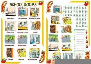 School Places Clipart.