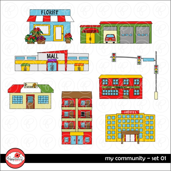 Places in the community clipart 8 » Clipart Station.
