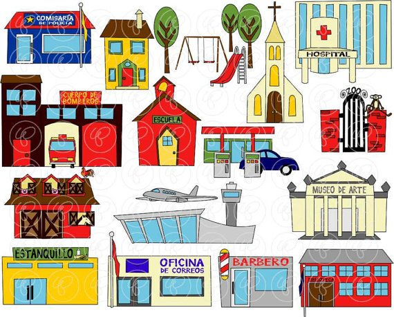 Places in our community clipart 5 » Clipart Portal.