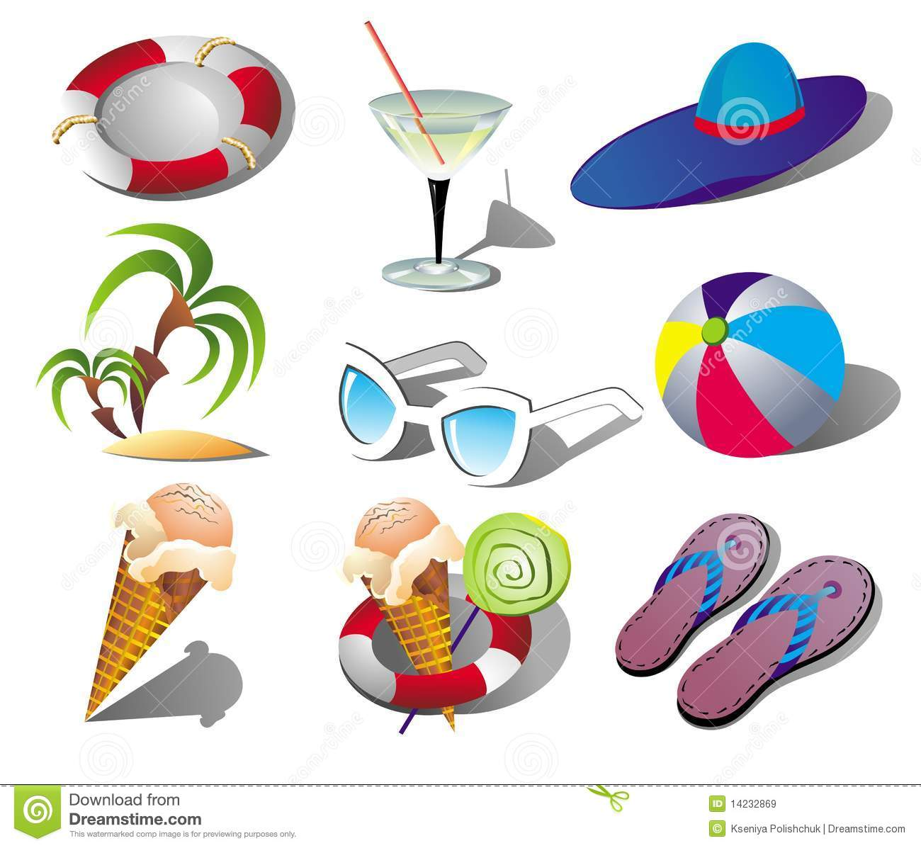 This Summer Relax Clipart.