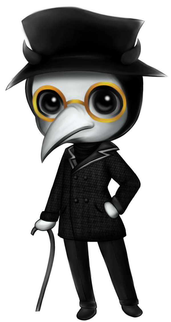 plague doctor chibi by RoyoVi on DeviantArt.