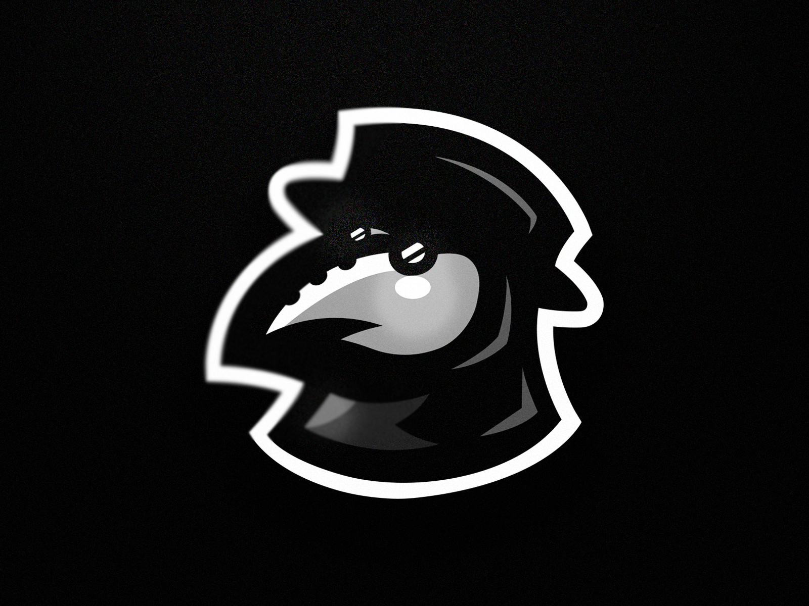Plague Doctor mascot logo by Morcoil on Dribbble.