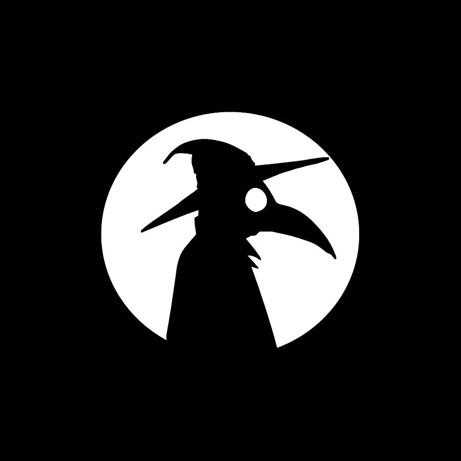 Plague Doctor And The Moon.